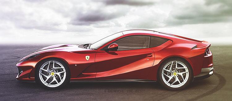 A Look at the New Ferrari 812 Superfast