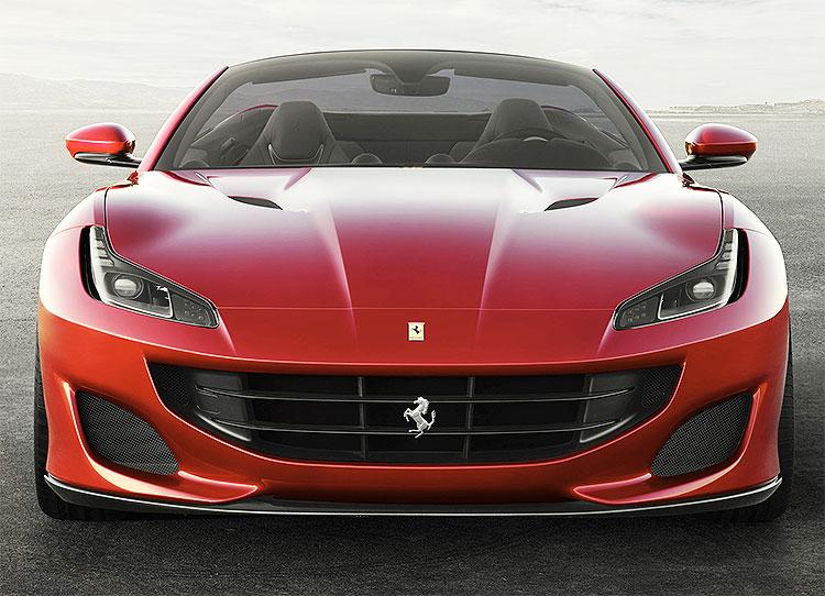 Ferrari Portofino Front View