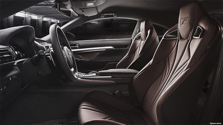 Lexus RCF Interior