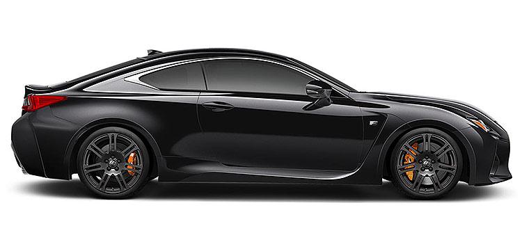 Lexus RCF V8 Black