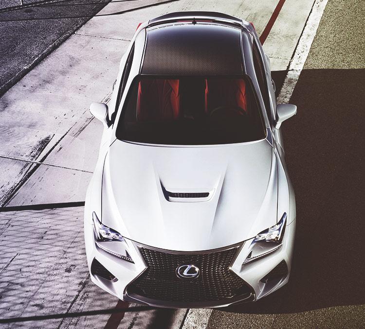 Lexus RCF Moonroof